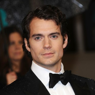 Henry Cavill in The 2013 EE British Academy Film Awards - Arrivals - henry-cavill-2013-ee-british-academy-film-awards-01