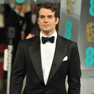 Henry Cavill in The 2013 EE British Academy Film Awards - Arrivals - henry-cavill-2013-ee-british-academy-film-awards-05