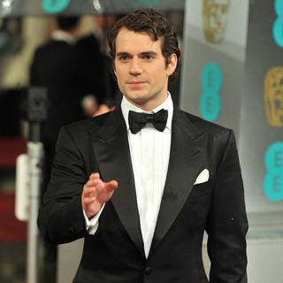 Henry Cavill in The 2013 EE British Academy Film Awards - Arrivals - henry-cavill-2013-ee-british-academy-film-awards-06