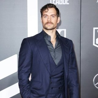 Henry Cavill in Justice League Film Premiere