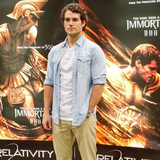 Henry Cavill in Wondercon 2011