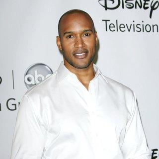Henry Simmons in 2011 Disney ABC Television Group Host Summer Press Tour