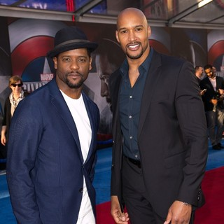 Henry Simmons in The World Premiere of Captain America: Civil War