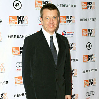 Peter Morgan in 48th New York Film Festival Closing Night 'Hereafter' Premiere