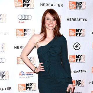 Bryce Dallas Howard in 48th New York Film Festival Closing Night 'Hereafter' Premiere