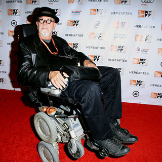 Chuck Close in 48th New York Film Festival Closing Night 'Hereafter' Premiere