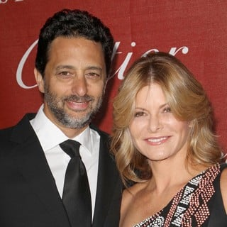 Grant Heslov, Lisa Heslov in The 23rd Annual Palm Springs International Film Festival Awards Gala - Arrivals
