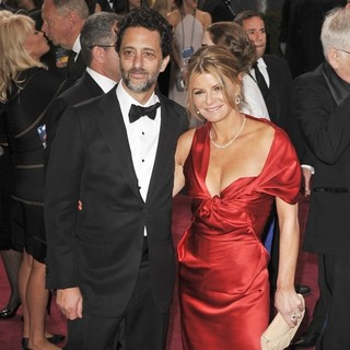 Grant Heslov, Lisa Heslov in The 85th Annual Oscars - Red Carpet Arrivals