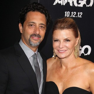 Grant Heslov, Lisa Heslov in Argo - Los Angeles Premiere