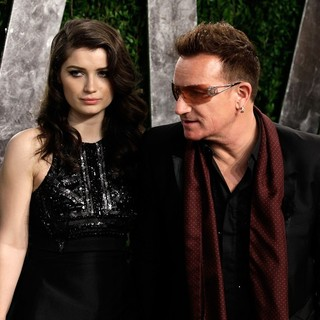 Bono in 2013 Vanity Fair Oscar Party - Arrivals - hewson-bono-2013-vanity-fair-oscar-party-01
