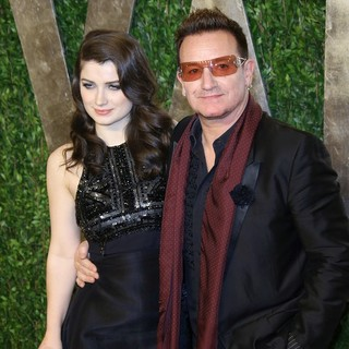 Bono in 2013 Vanity Fair Oscar Party - Arrivals - hewson-bono-2013-vanity-fair-oscar-party-03