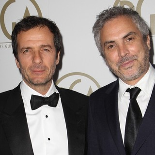 David Heyman, Alfonso Cuaron in The 25th Annual Producer Guild of America Awards - Arrivals
