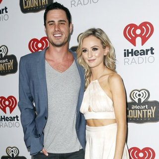 Ben Higgins, Lauren Bushnell in 2016 iHeart Country Radio Music Festival - Arrivals