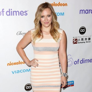 Hilary Duff in March of Dimes Celebration of Babies Luncheon - Arrivals