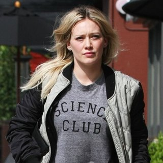 Hilary Duff Spotted Out and About in Los Angeles