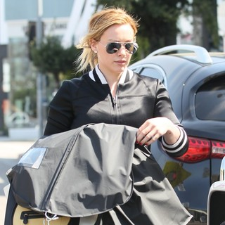 Hilary Duff Out Shopping