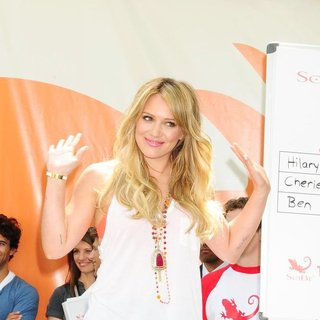Hilary Duff in The SoBe 'Try Everything Experience'