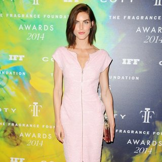 Hilary Rhoda in 2014 Fragrance Foundation Awards - Red Carpet Arrivals