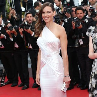 Hilary Swank in The 67th Annual Cannes Film Festival - The Homesman - Premiere Arrivals