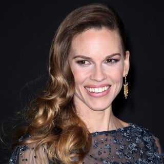 Hilary Swank in Los Angeles Premiere of New Year's Eve
