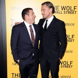 Jonah Hill, Leonardo DiCaprio in US Premiere of The Wolf of Wall Street - Red Carpet Arrivals