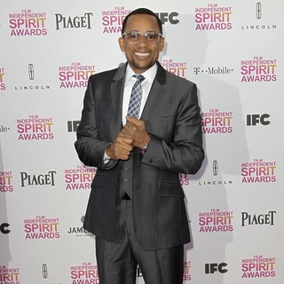 Hill Harper in 2013 Film Independent Spirit Awards - Arrivals