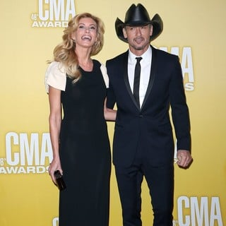 Faith Hill, Tim McGraw in 46th Annual CMA Awards