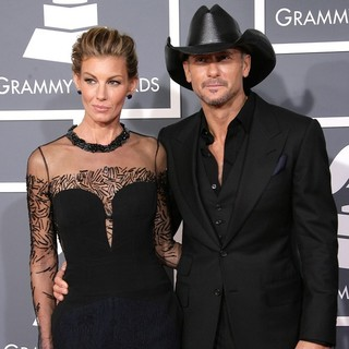 Faith Hill, Tim McGraw in 55th Annual GRAMMY Awards - Arrivals