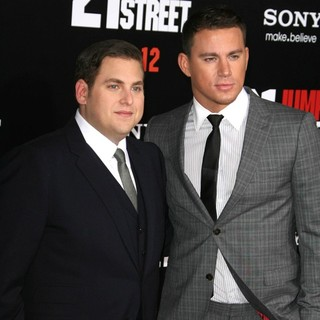 Jonah Hill, Channing Tatum in Los Angeles Premiere of 21 Jump Street - Arrivals
