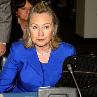 Hillary Clinton in The Meeting on Flood Emergency in Pakistan