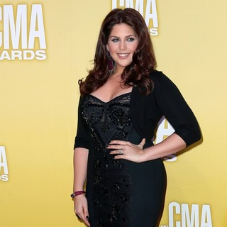 Hillary Scott, Lady Antebellum in 46th Annual CMA Awards