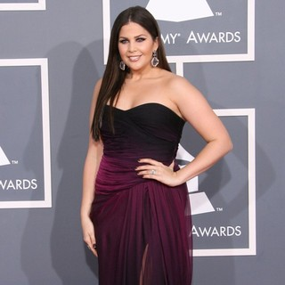 Hillary Scott, Lady Antebellum in 54th Annual GRAMMY Awards - Arrivals