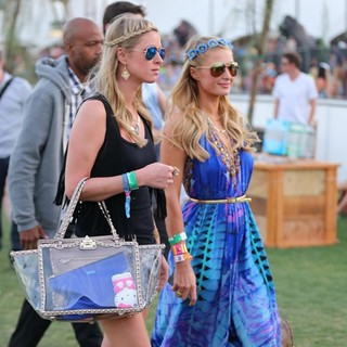 Paris Hilton - The 2013 Coachella Valley Music and Arts Festival - Week 1 Day 2