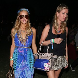 Nicky Hilton, Paris Hilton in The 2013 Coachella Valley Music and Arts Festival - Week 1 Day 2