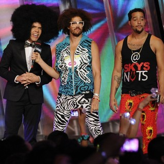 Perez Hilton, LMFAO in 2012 MuchMusic Video Awards - Show