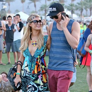 Paris Hilton - The 2013 Coachella Valley Music and Arts Festival - Week 1 Day 1