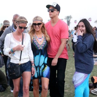 Paris Hilton - The 2013 Coachella Valley Music and Arts Festival - Week 1 Day 3