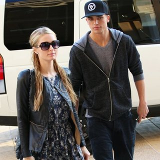 Paris Hilton, River Viiperi in Paris Hilton and River Viiperi Arrive at Barney's of New York