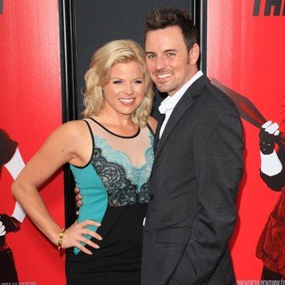 Megan Hilty, Brian Gallagher in New York Premiere of The Heat - Red Carpet Arrivals