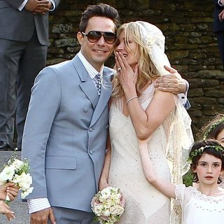 Kate Moss - Kate Moss and Jamie Hince Wedding Day