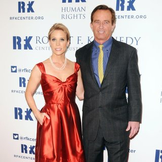 Cheryl Hines, Robert F. Kennedy Jr. in Robert F. Kennedy Center for Justice and Human Rights 2013 Ripple of Hope Awards