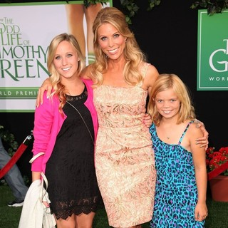 Cheryl Hines, Catherine Rose Young in The World Premiere of The Odd Life of Timothy Green - Arrivals