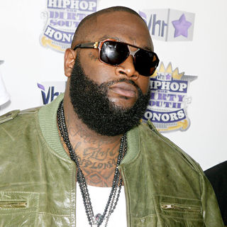 Rick Ross in 7th Annual VH1 Hip Hop Honors - Arrivals