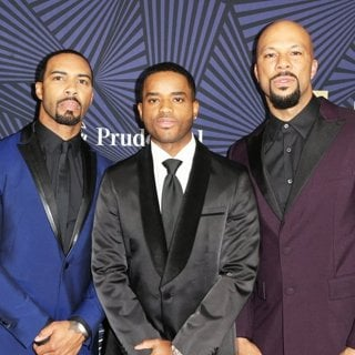 Aldis Hodge, Omari Hardwick, Larenz Tate, Common-BET's 2017 American Black Film Festival Honors Awards