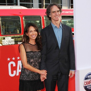 Susanna Hoffs, Jay Roach in Los Angeles Premiere of The Campaign - Arrivals