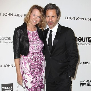 Janet Holden, Eric McCormack in 21st Annual Elton John AIDS Foundation's Oscar Viewing Party