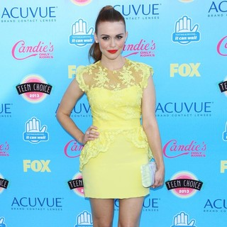 Holland Roden in 2013 Teen Choice Awards