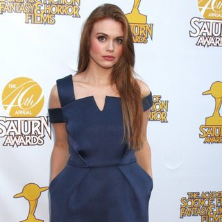 Holland Roden in Saturn Awards 2014 - Arrivals