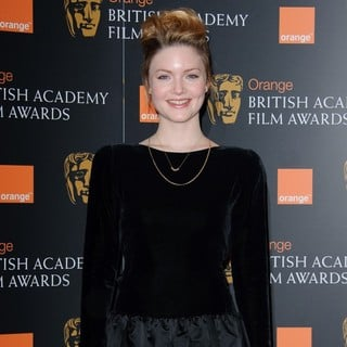 Holliday Grainger in 2012 Orange British Academy Film Awards Nominations Announcement