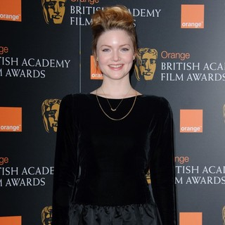 Holliday Grainger in 2012 Orange British Academy Film Awards Nominations Announcement - holliday-grainger-2012-bafta-nominations-03